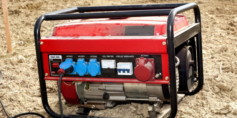 heavy duty portable generator