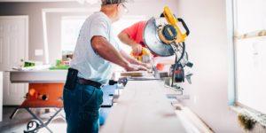 contractors using power tools
