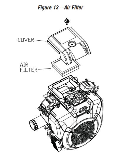 Generac 10 000 air filter